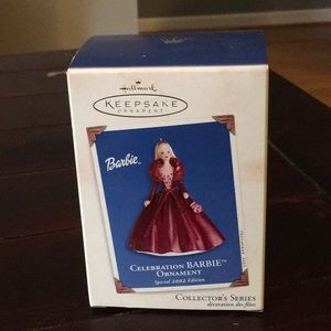 2002 Holiday Barbie Ornament